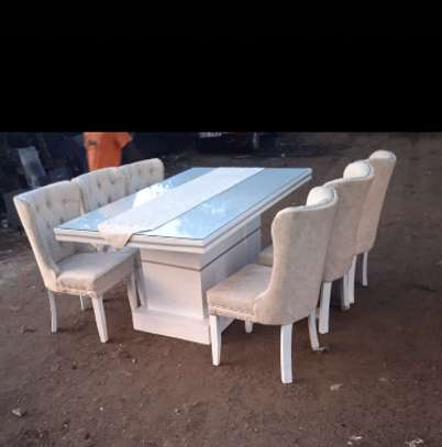 6 seater dining set image 3