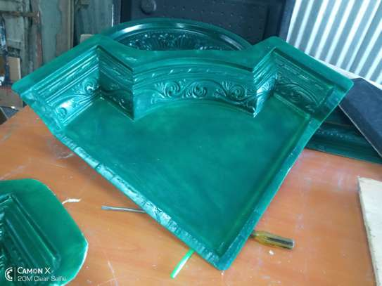 we make moulds for making gypsum cornices, medallions and corners
