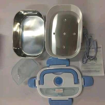 Metallic electric Lunch box image 1