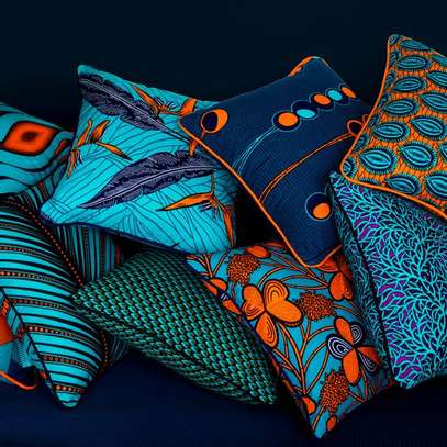 Ankara throw pillows image 3