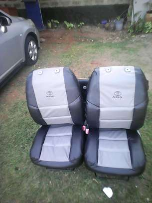 Standard synthetic car seat covers
