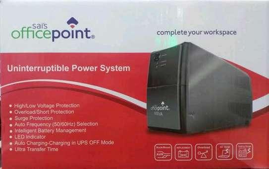 OfficePoint Back-Up UPS 650VA Black image 1