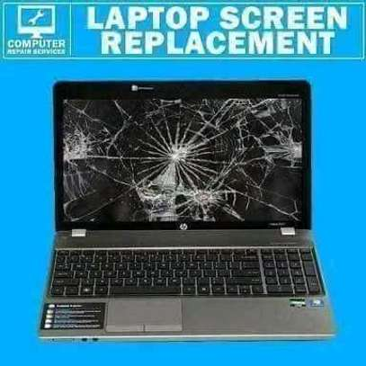 Laptop Screen Replacement services available image 1