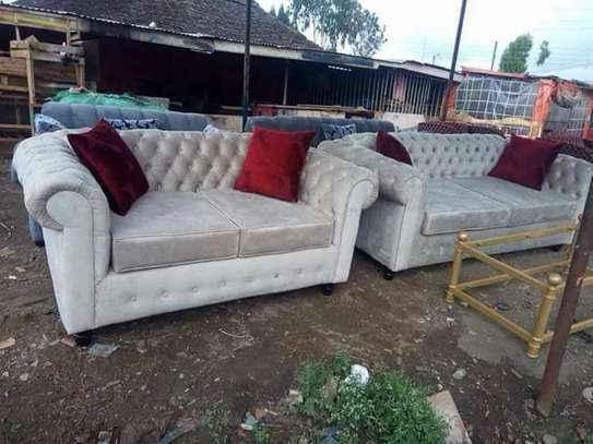 5 Seater Chesterfield Sofa Set. image 7