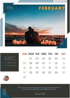 Bible Desk Calendars image 4