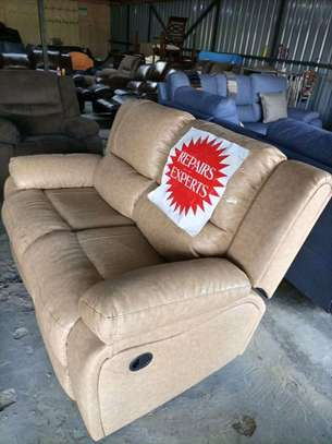 Repair, repainting and reupholstery of all imported recliners and other leather sofas image 4