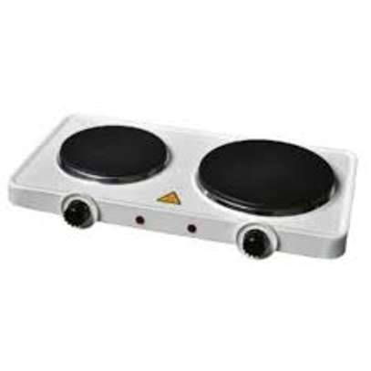 Electric Double Hot Plate cooker image 1