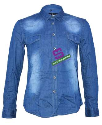 Sky Blue Wash Slim Fit Denim