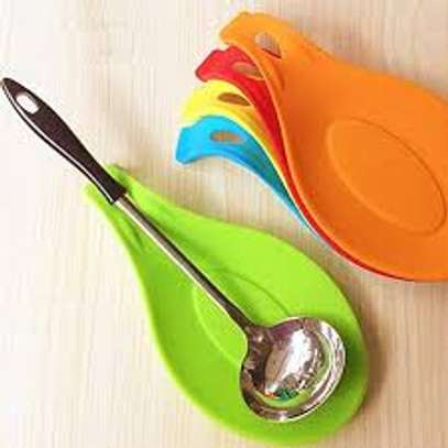silicon spoon rest image 1