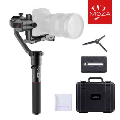AirCross 3-Axis Handheld Gimbal Ultra-lightweight Portable Camera Stabilizer Support Unlimited Power Source Long-exposure Timelapse Auto-Tuning for Parameters For Mirrorless Cameras up to 1800g/3