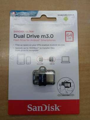 64GB SanDisk Ultra Dual Drive Flash