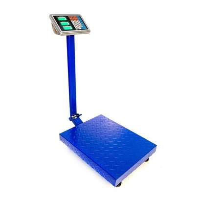 150kg Digital Electronic Price Platform Scale (Blue) image 4