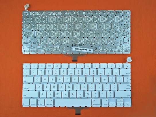 NEW US layout/Letter Laptop Keyboard for APPLE Macbook A1181 WHITE Replacement eyboards image 1