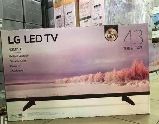 "LG  - 43"" Smart Full HD LED TV - Black-New image 1"