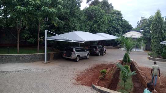 Designs and installation of shades sails canopies car shades etc image 4