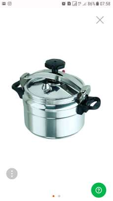 Generic Pressure Cooker - 5 Litres - Silver image 1