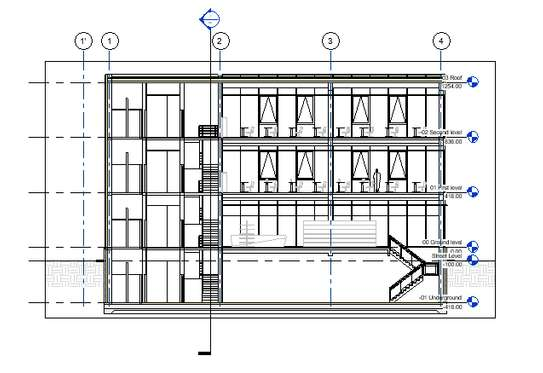 Office building plan image 10