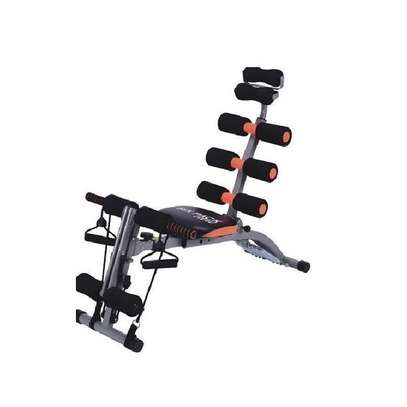 Six Pack Care Exercise Bench Sit Up Gym Fitness Machine Slimming With Pedal