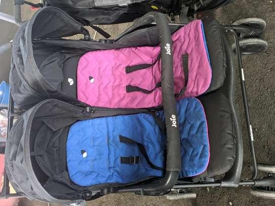 Twins multi color stroller image 1