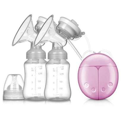 Electric Breast Pump, Portable Double / Single Quiet Comfort Breast Massager Suction For Breastfeeding image 1