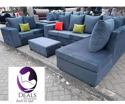 Six Seater Corner Seat + Sofabed/ Two Seater image 7