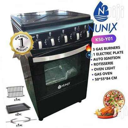 3+1 Nunix Stand Cooker With Oven image 2