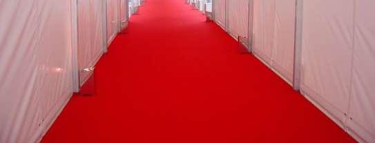 Non-Skip Heavy Duty Red Carpet For Wedding image 5