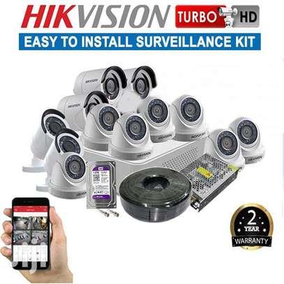 12 Hd Cctv Camera Full Kit image 1