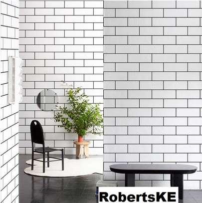 wallpaper black and white prints image 1