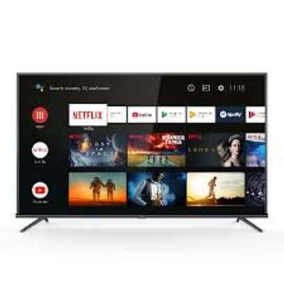 TCL 43 inches Android UHD-4K 43P725 Smart Frameless Digital TVs image 1