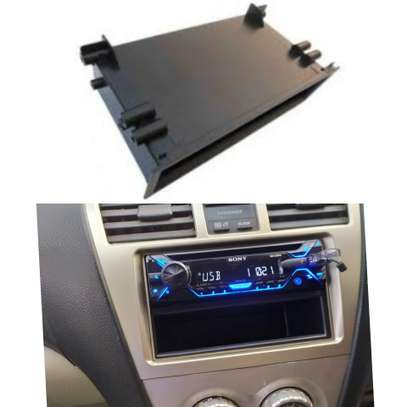 Universal Trace Single Din Pocket Storage Box for Car Stereo. image 1
