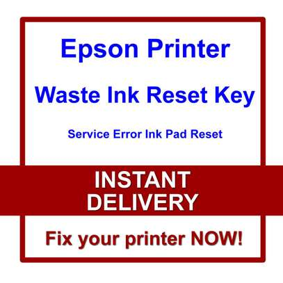 Epson waste ink Reset codes