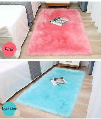 Colorful bedside mat image 3