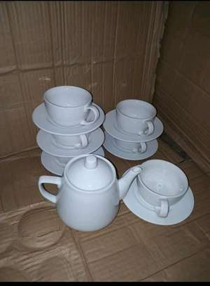 6pc saucer cup/cupchino saucer cup/coffee set image 1