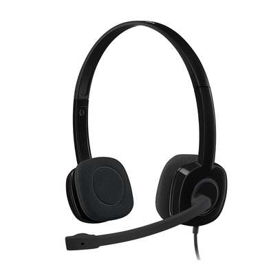 Logitech H151 Multi-Device Stereo Headset With In-Line Controls image 2