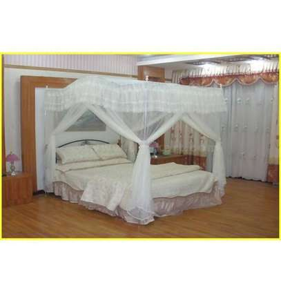 CURVED CANOPY MOSQUITO NET-WHITE