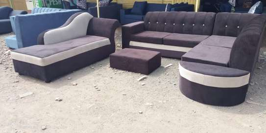 L Shape Sofas  with Sofa bed image 1