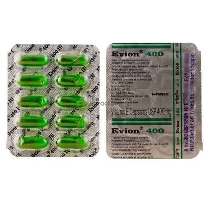 Evion 400 Vitamin E Capsules