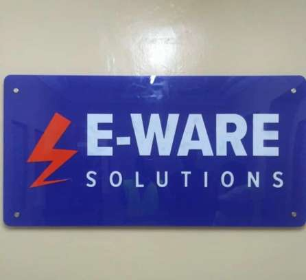 We do quality 3D signage, Light box signage, corporate logos.. contact us for pricing image 4