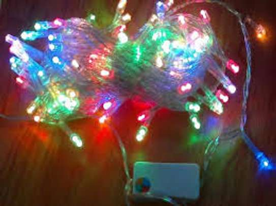 Quality decorative outdoor string lighting 10 meters image 2