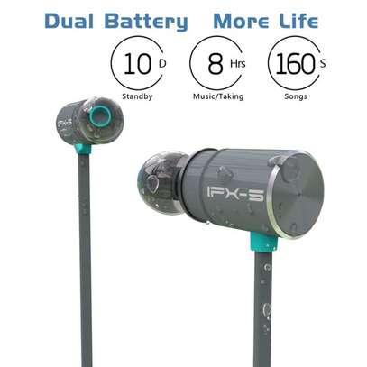 Plextone Wireless Headphone IPX5 Waterproof Dual Battery 8 Hours music time Bluetooth Sport Earphone for Running image 4