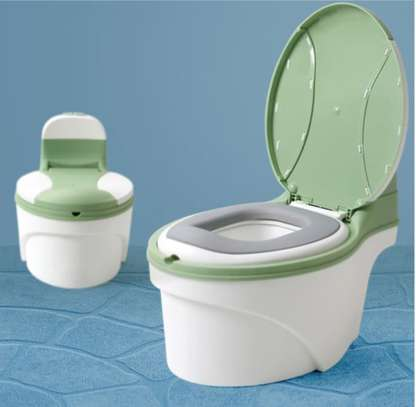 Children Simulation Toilet Infant Pony Bucket Potty Seat with Removable Inner Bucket image 4
