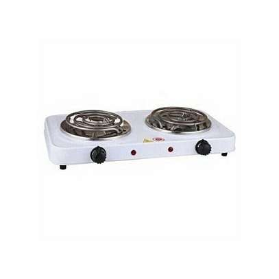 Modern Double Electric Hotplate -Cooker image 1