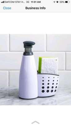 Liquid soap and dish washer organizer image 2