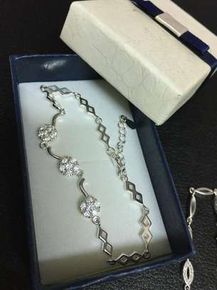 Silver bracelet image 1