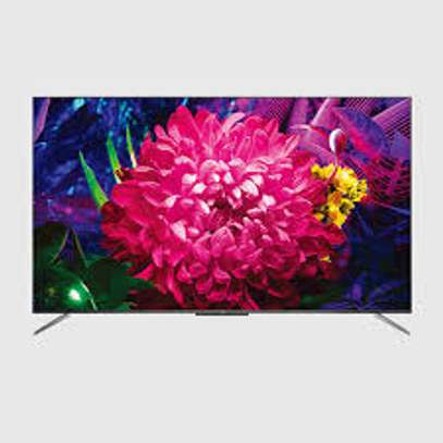 TCL Android 50 inches Smart UHD-4K 50P725 Frameless Digital TVs image 1