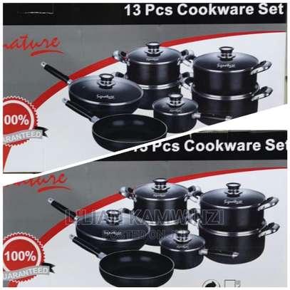 SG13C 13pcssignature Nonstick Cookware Set image 1