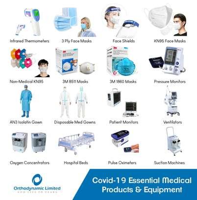 1 Crank Manual Hospital Bed  - single fold / function image 6