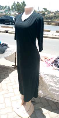 Black full dress image 1