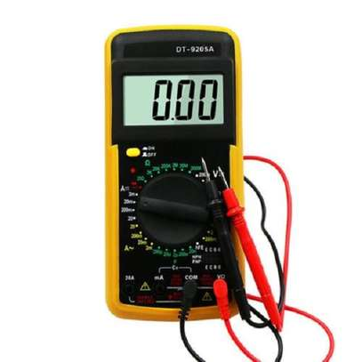 Digital Multimeter AC/DC Ammeter Resistance Capacitance image 1